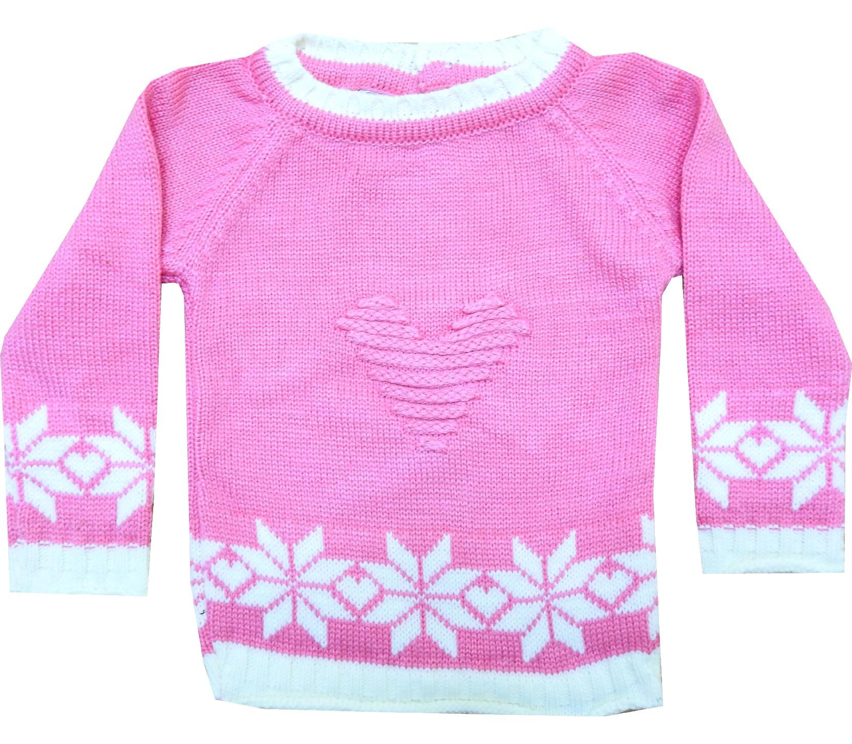 Wholesale embroidery sweater for girl (1-2-3 age)