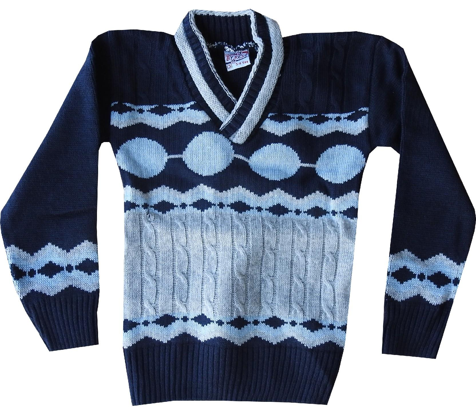 Wholesale assorted embroidery sweater for boy (4-6-8 age)