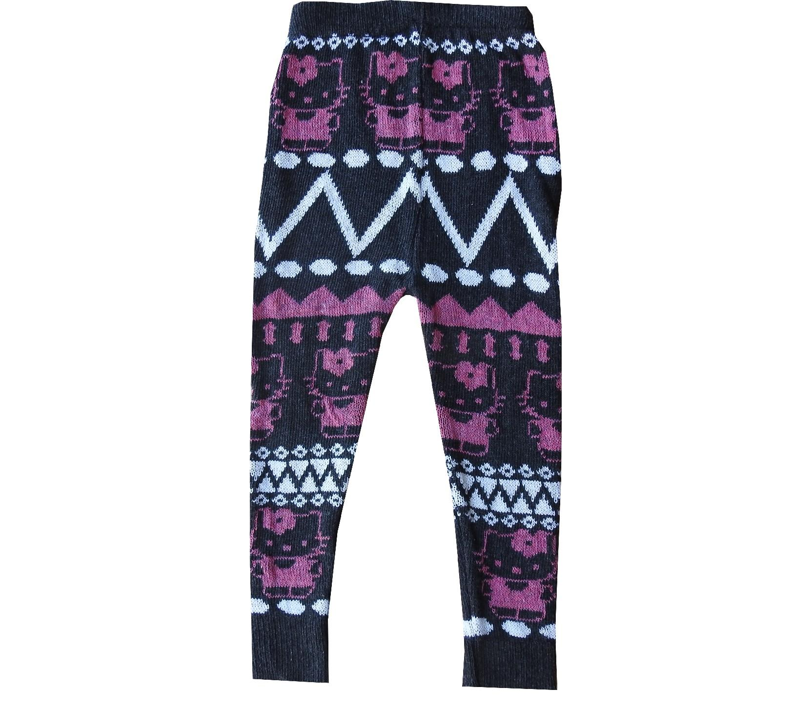 Wholesale embroidery knitted tights for girl (3-6-9-12 month)