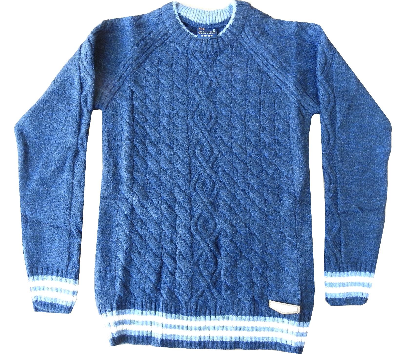 Wholesale knitted sweater for boy (5-7-9 age)