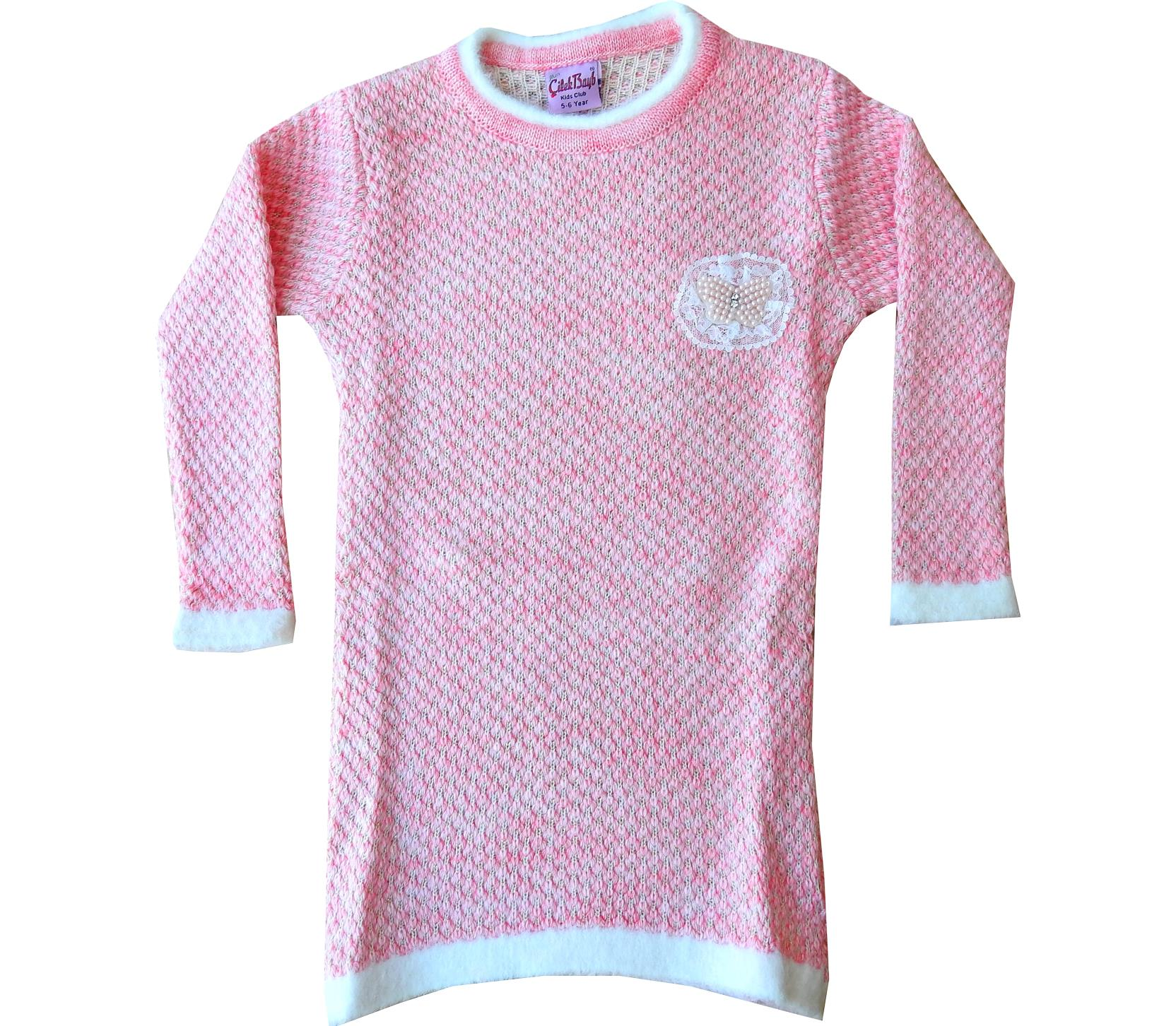 Wholesale knitted tunic for girl (5-7-9 age)