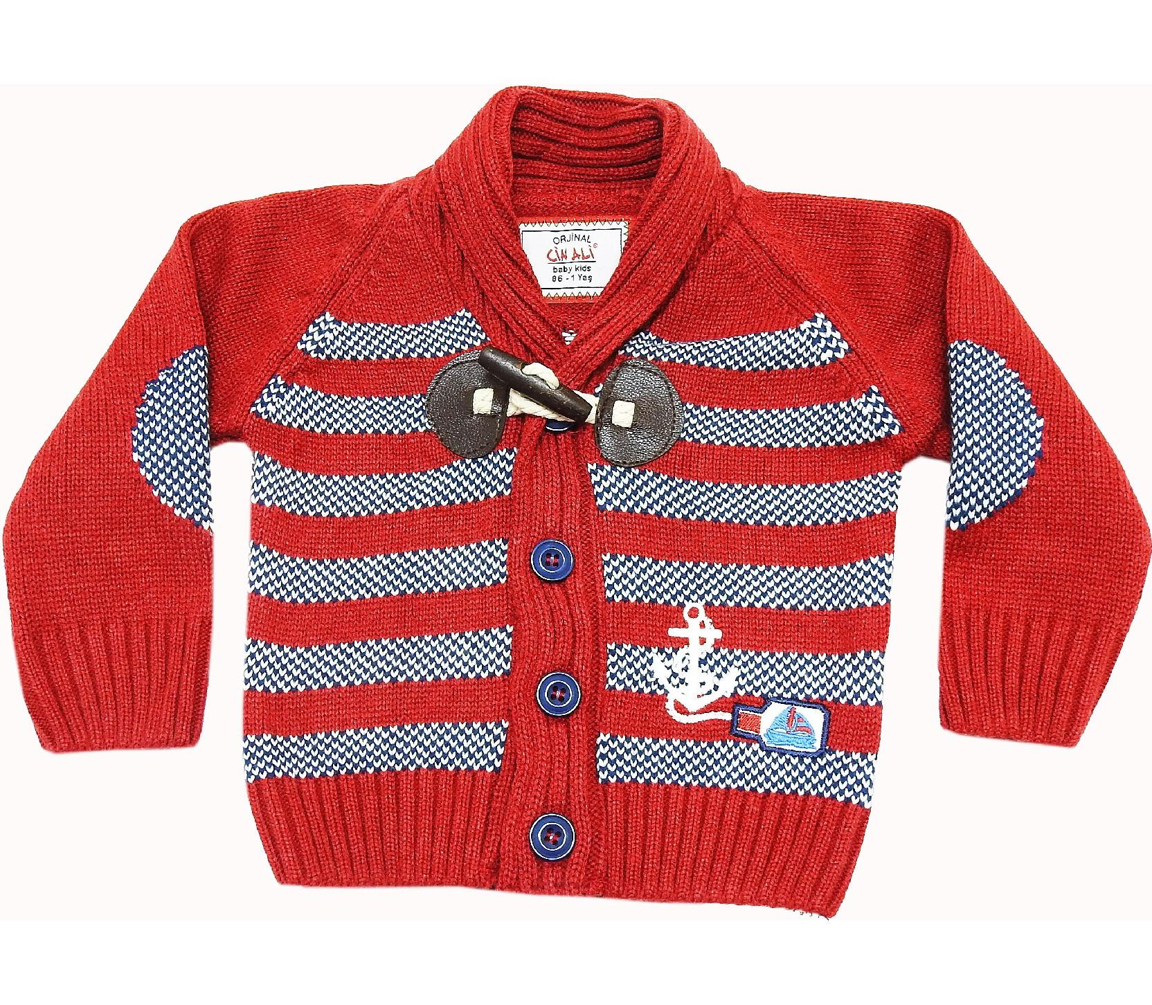 WHOLESALE STRIPED SWEATER PULLOVER FOR BOY/BABY KIDS (1-2-3 AGE)