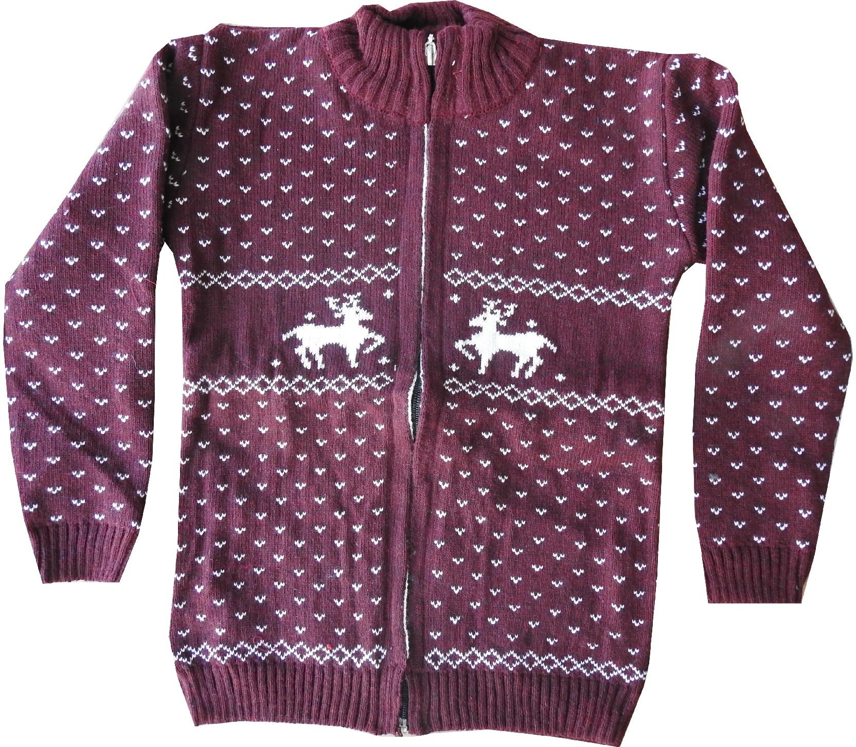 Wholesale assorted embroidery zip fastening sweater for boy (8-10-12 age)