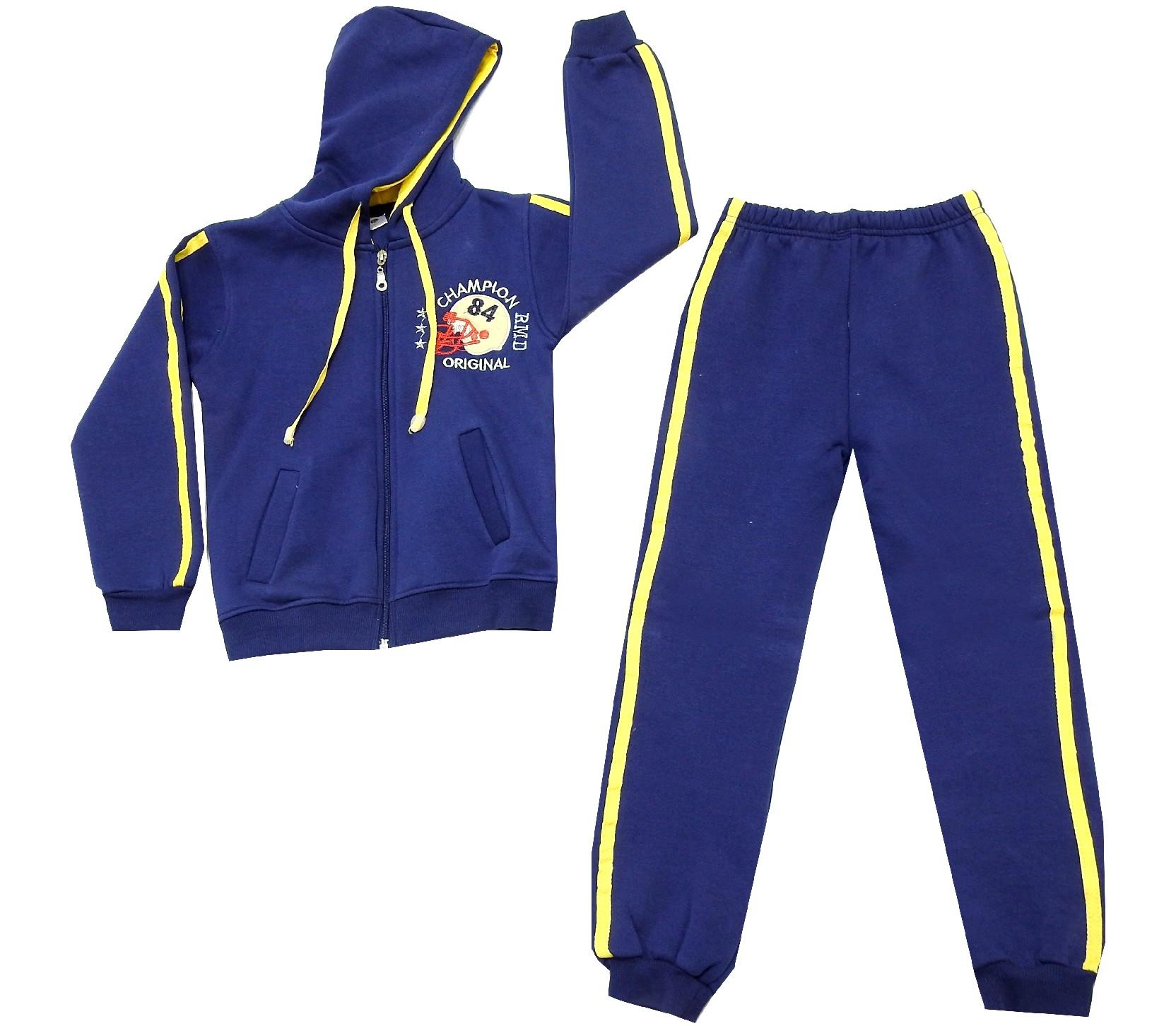 WHOLESALE HOODIE SWEATSUIT DOUBLE SET FOR KIDS (9-10-11-12 AGE)