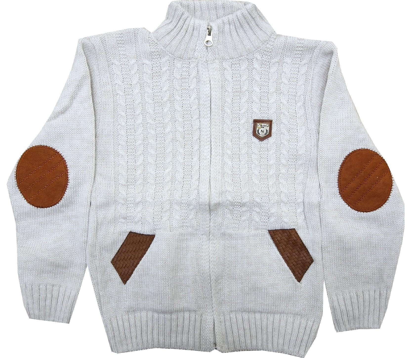 Wholesale elbow patch designed sweater for boy (4-6-8 age)