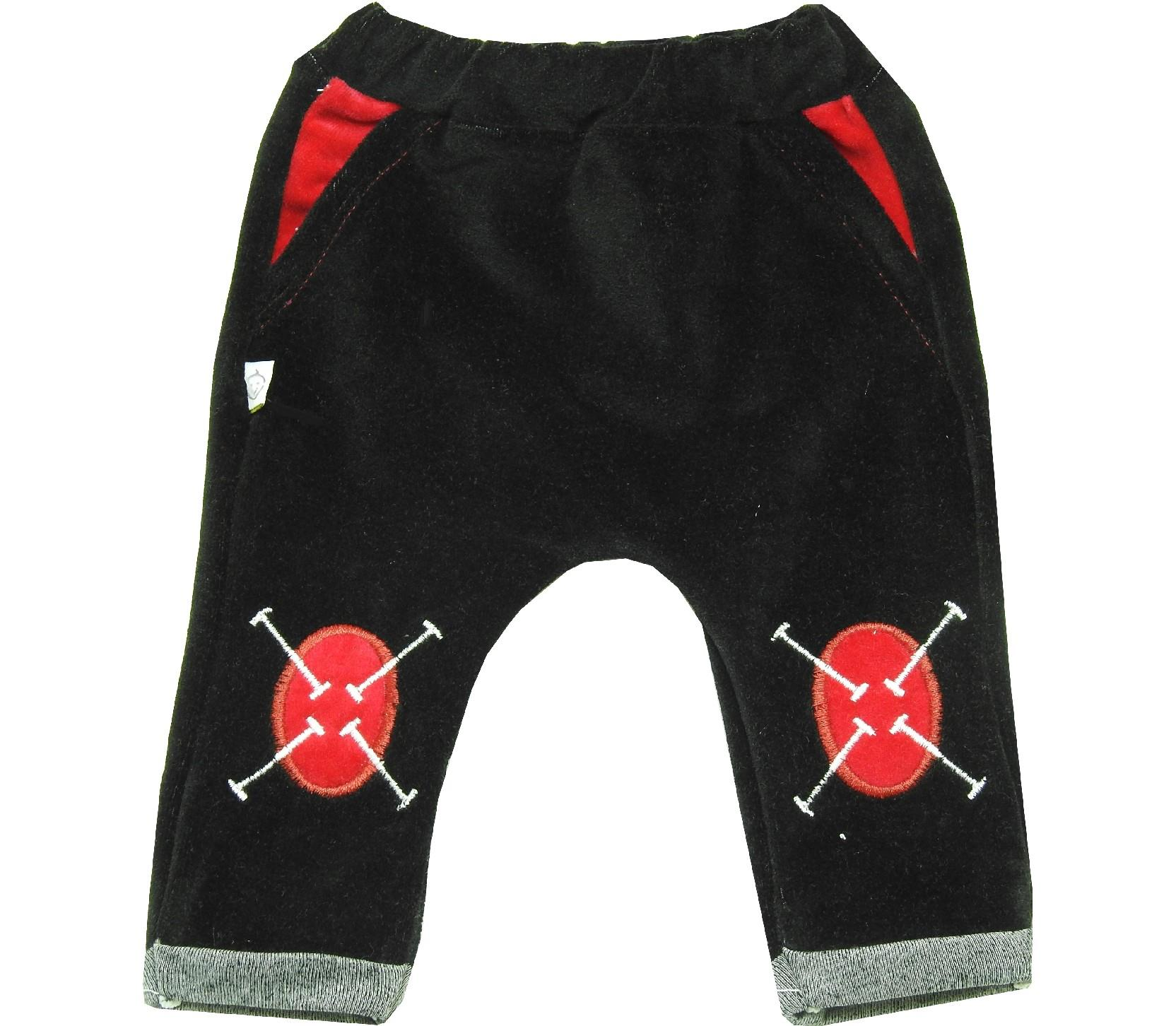 Wholesale velvet single pant for baby (3-6-9 month)