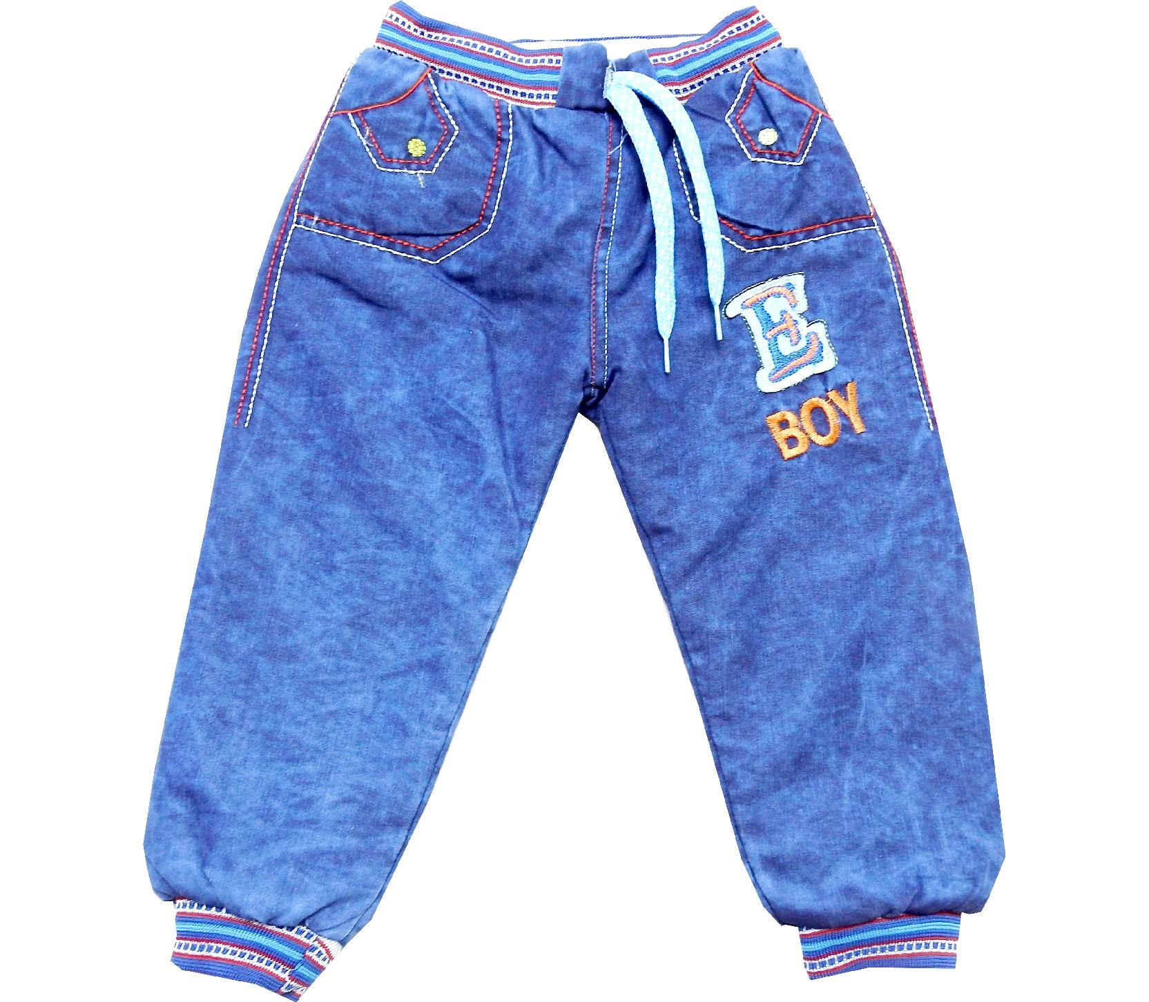 Wholesale E Boy sewed jeans pant for boy (1-2-3-4 age)