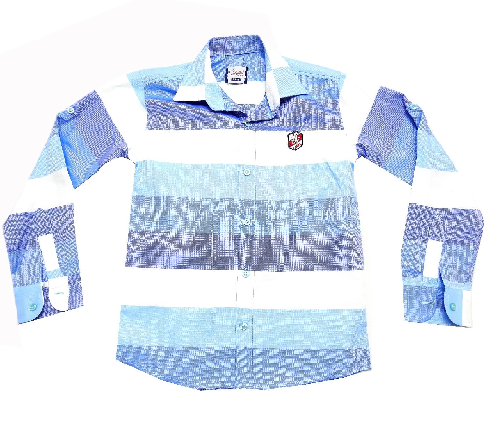 Wholesale striped design shirt for boy (9-10-11-12 age)