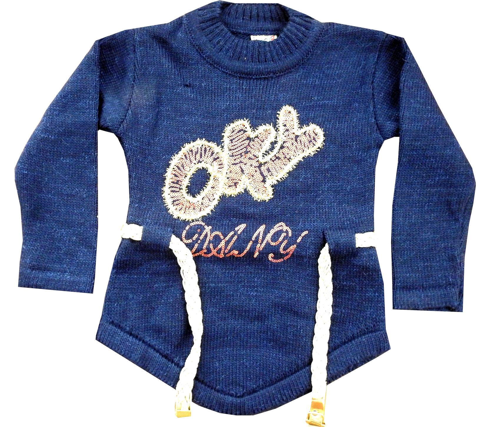 Wholesale '' OKY '' print tunic sweat for girl (5-7-9 age)