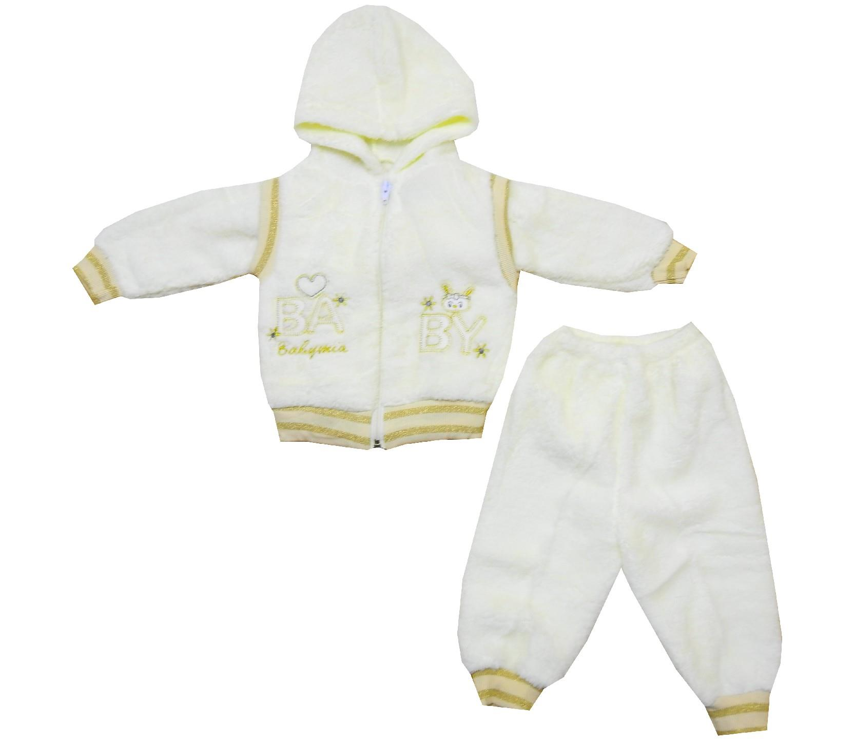 Wholesale baby print jacket and trouser double set for baby (6-9 month)
