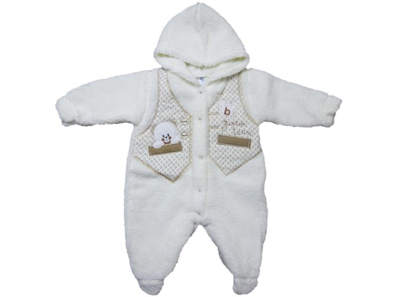 197 Wholesale quality winter detailed overalls for babies  6-9 month