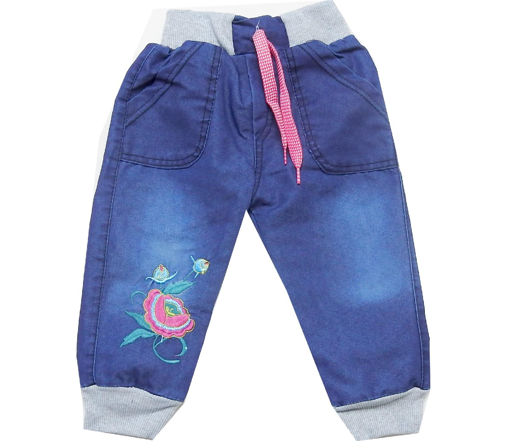 Wholesale assorted printed design jeans trouser for babies (9-12-18-24 month)