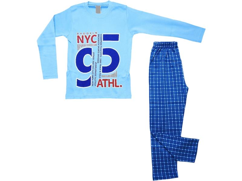 5075 Wholesale 95 printed t-shirt and trouser set for boy (4-5-6 age)