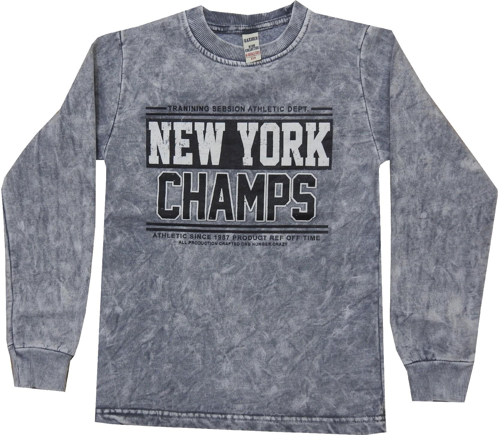 Wholesale ''NEW YORK'' print sweat for boy (5-6-7-8-9 age)