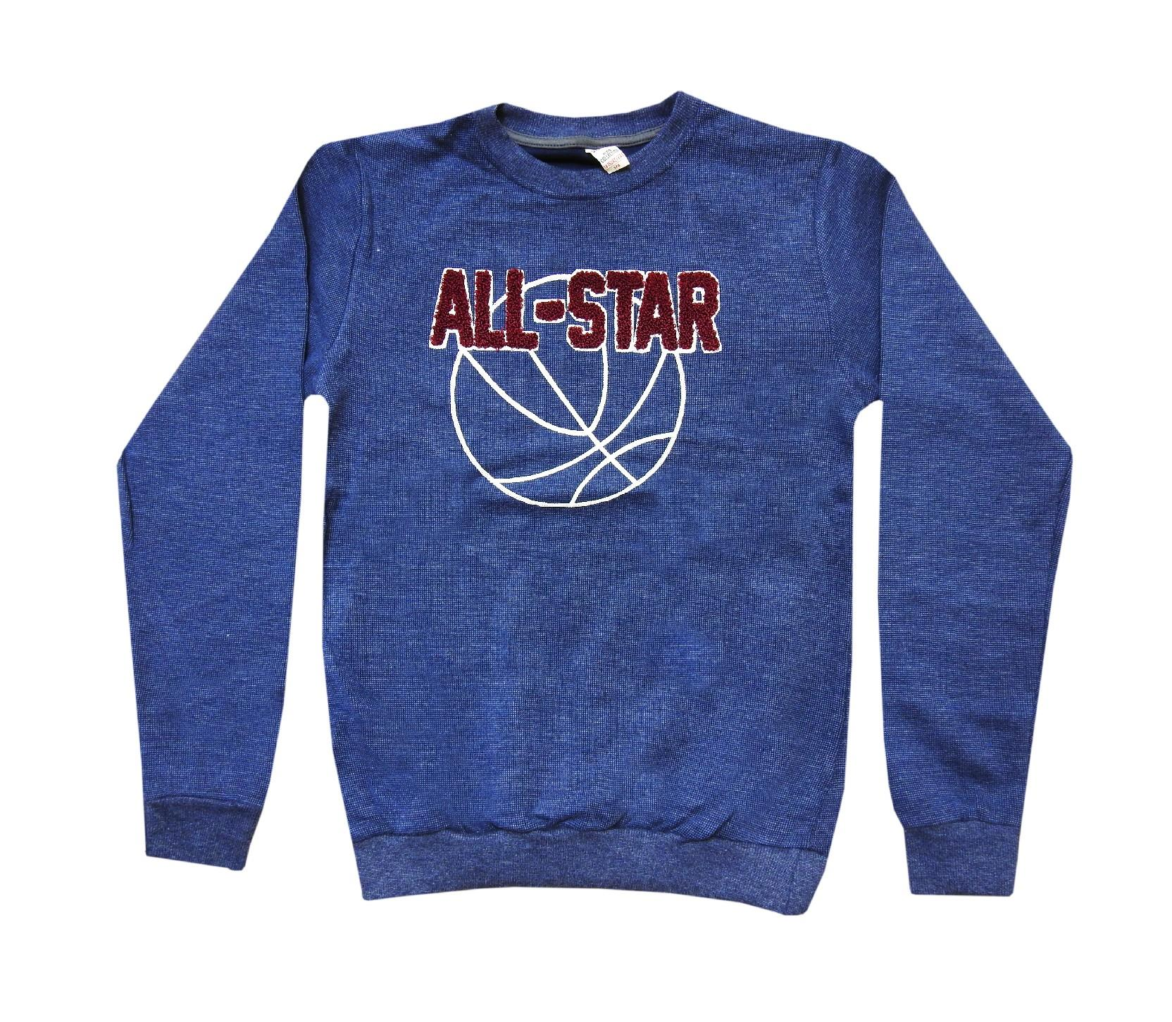 Wholesale ''ALL STAR'' print sweat for boy (11-12-13-14-15 age)