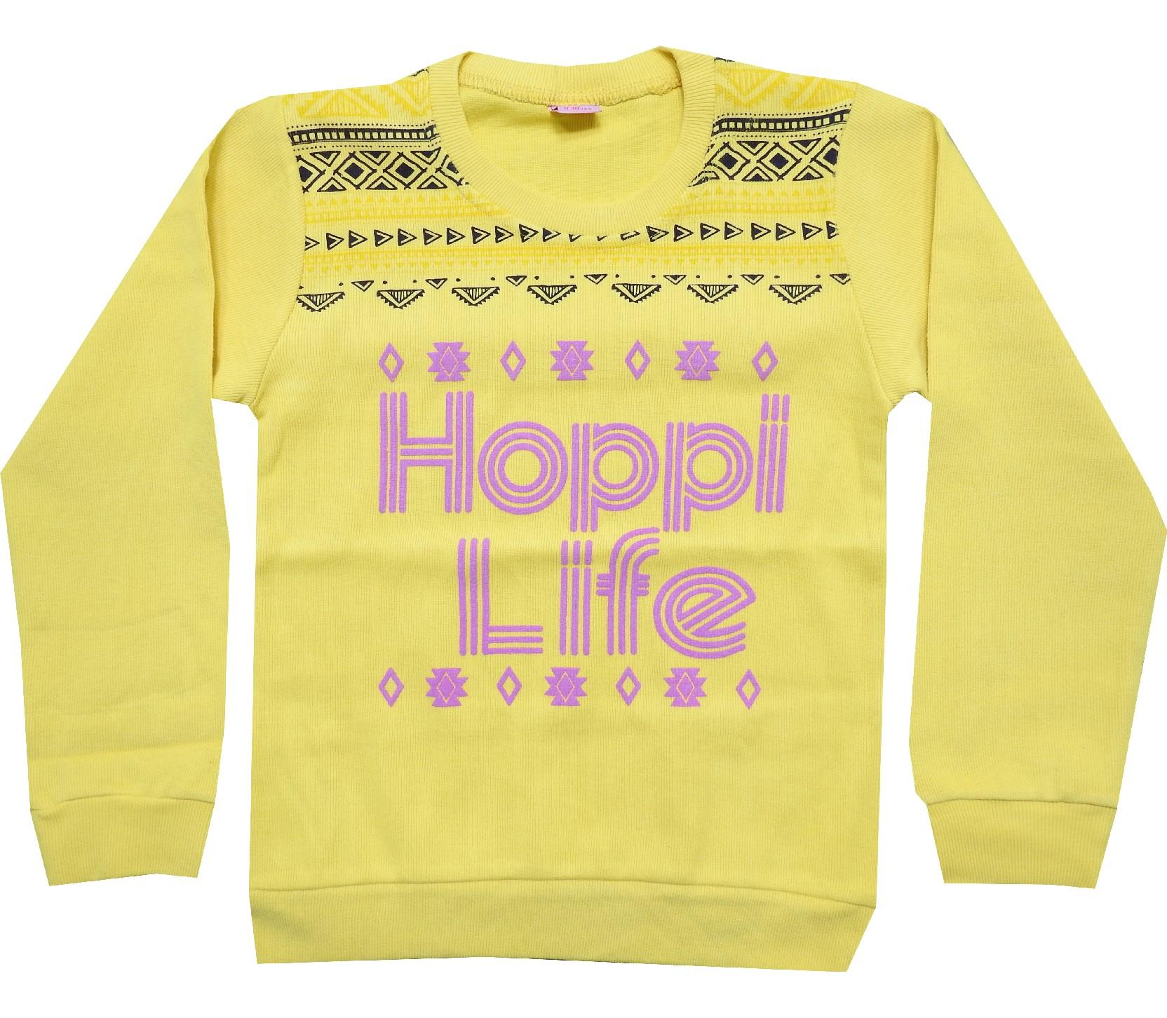 Wholesale ''hoppi life'' print sweat for girl (9-10-11-12 age)