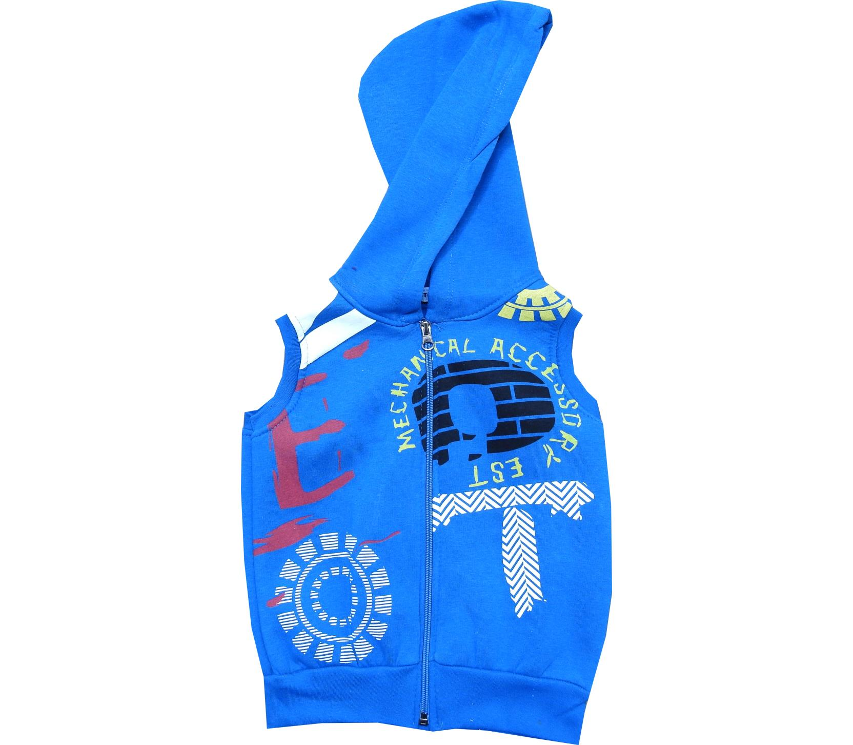 Wholesale hooded vest for child (3-4-5-6 age)