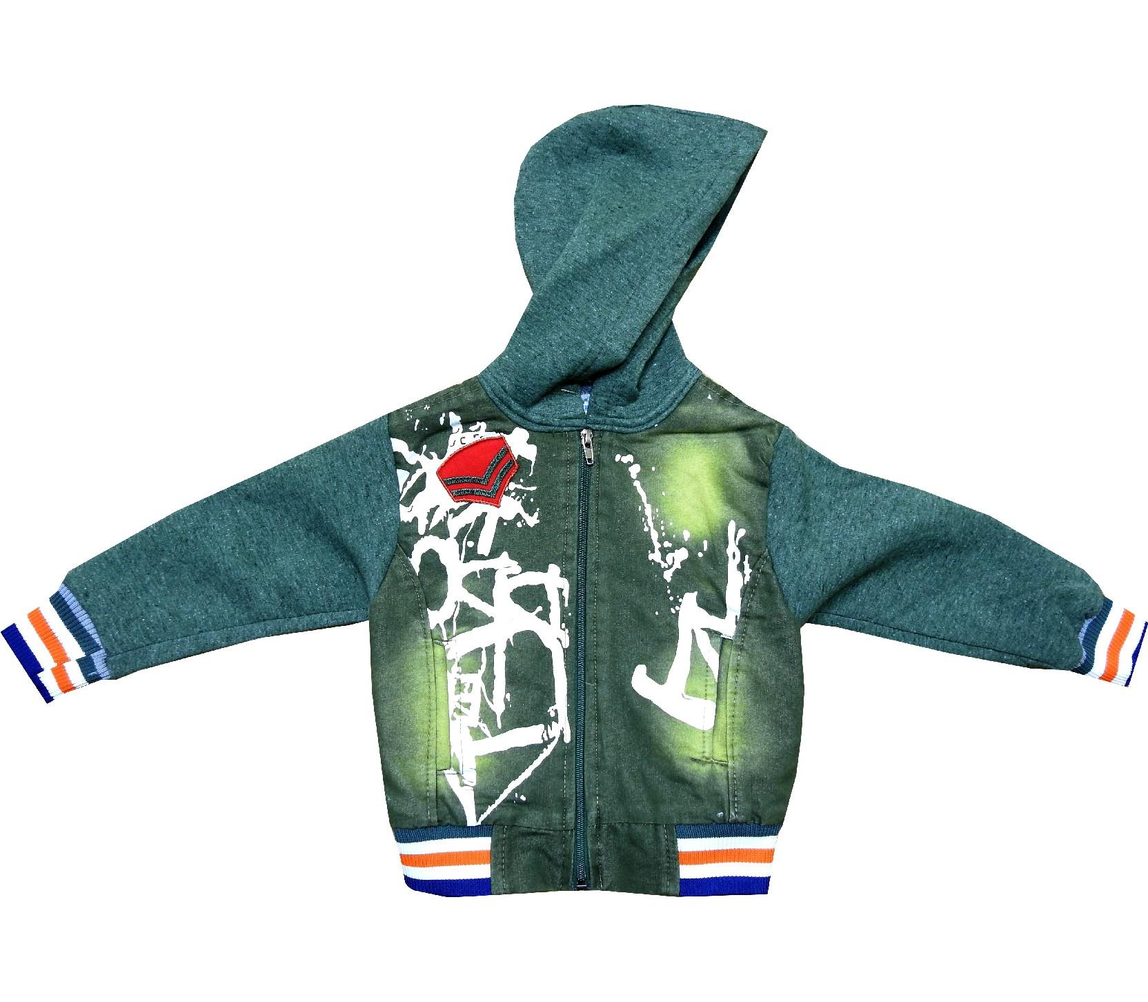 Wholesale hooded jacket for boy (3-4-5-6 age)