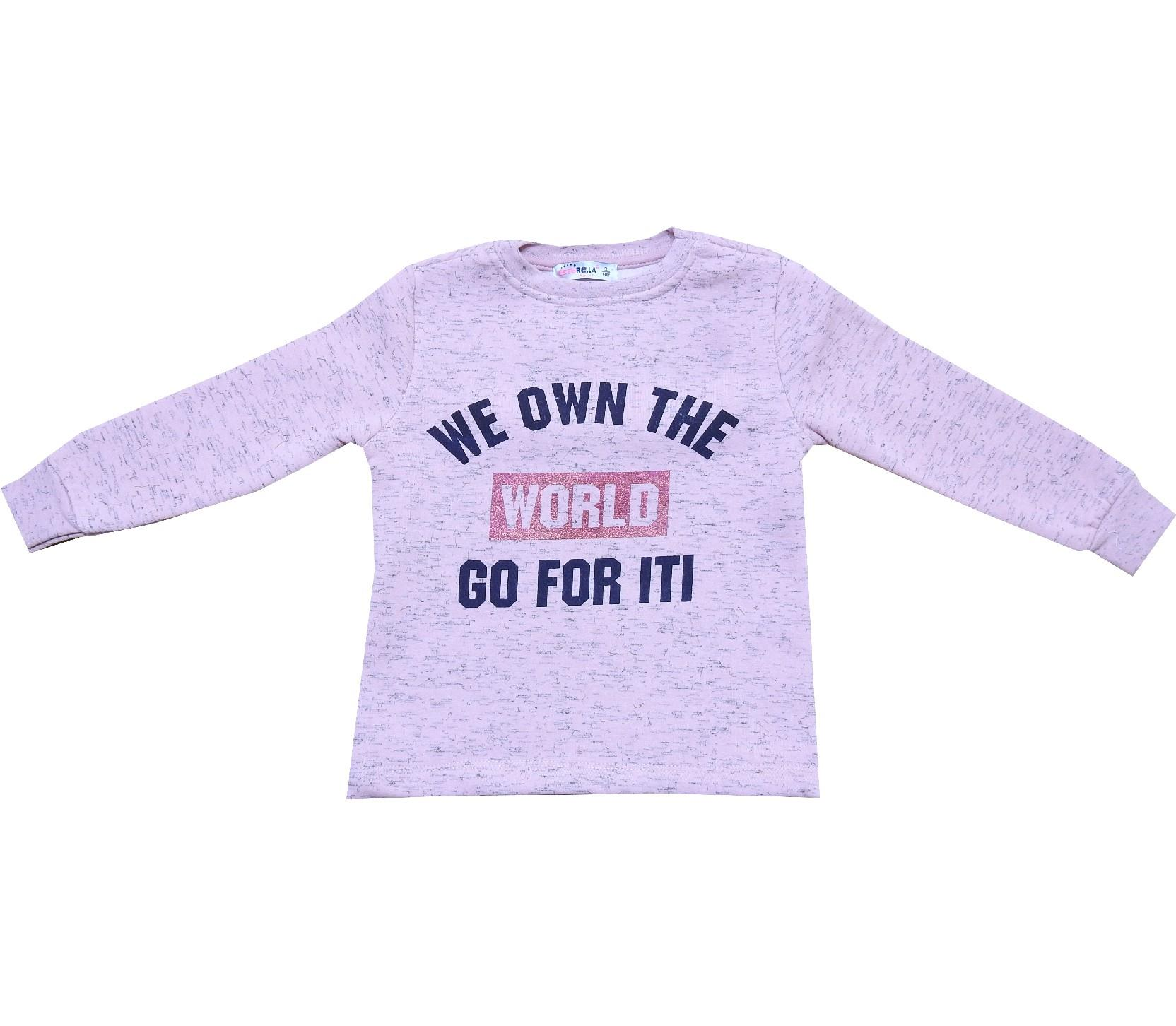 Wholesale letter print sweat for girl (3-4-5-6 age)