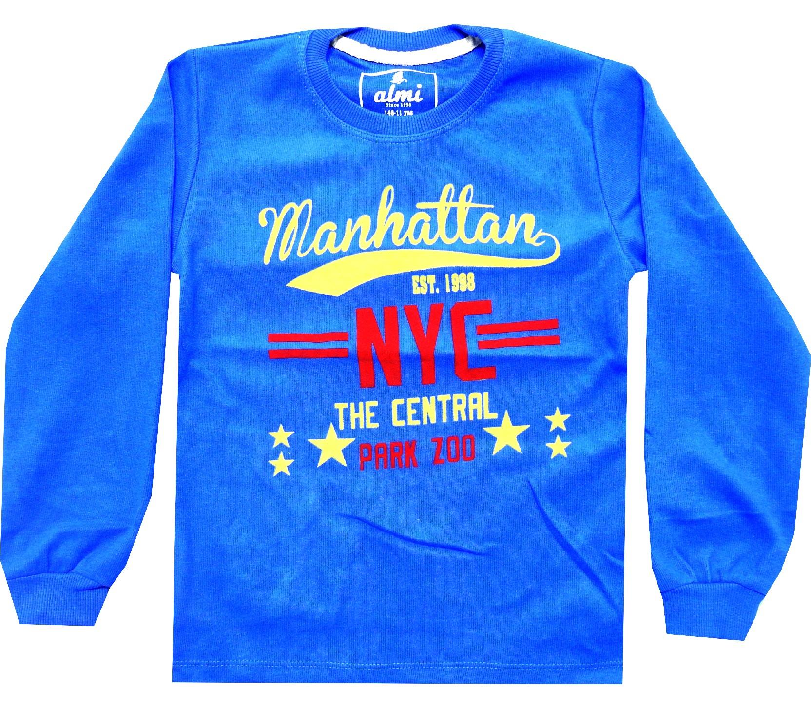 Wholesale ''Manhattan'' print sweat for boy (5-6-7-8 age)
