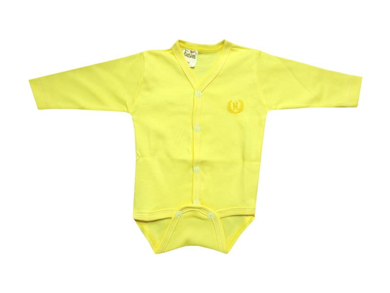 71072 Wholesale amblem printed long sleeve bodysuit for baby clothes