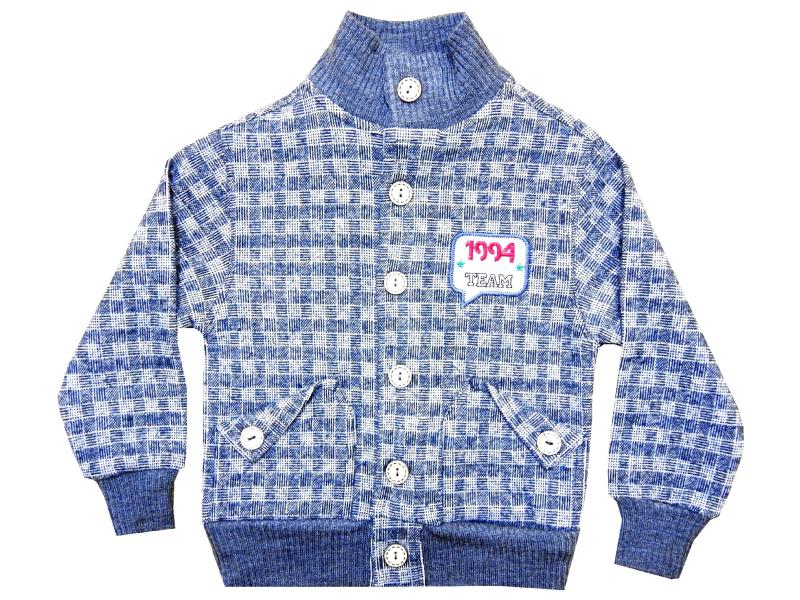 Wholesale chequered sweater for boy