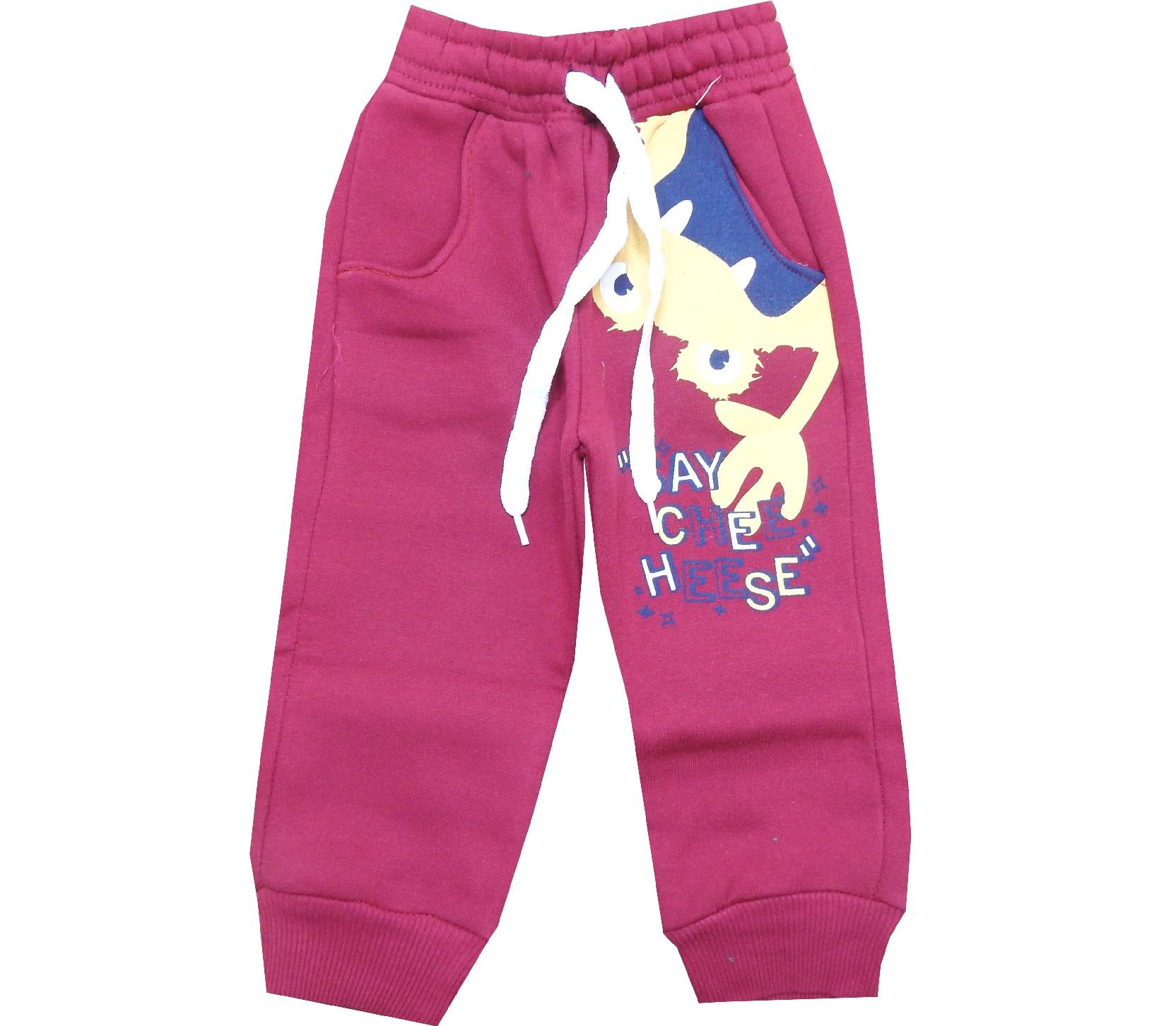 Wholesale monster print three-ply single pant for boy (1-2-3-4 age)