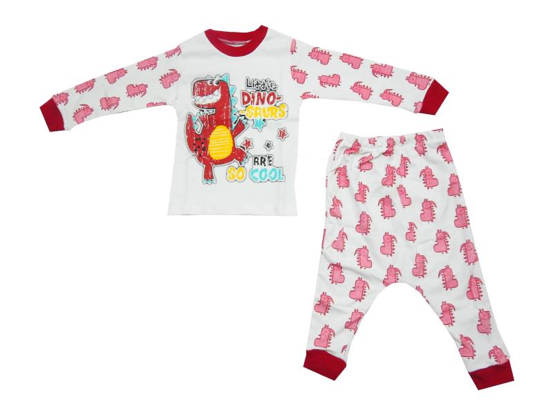 2001 wholesale dinosaur printed pyjama for boy (1-2-3-4 age)