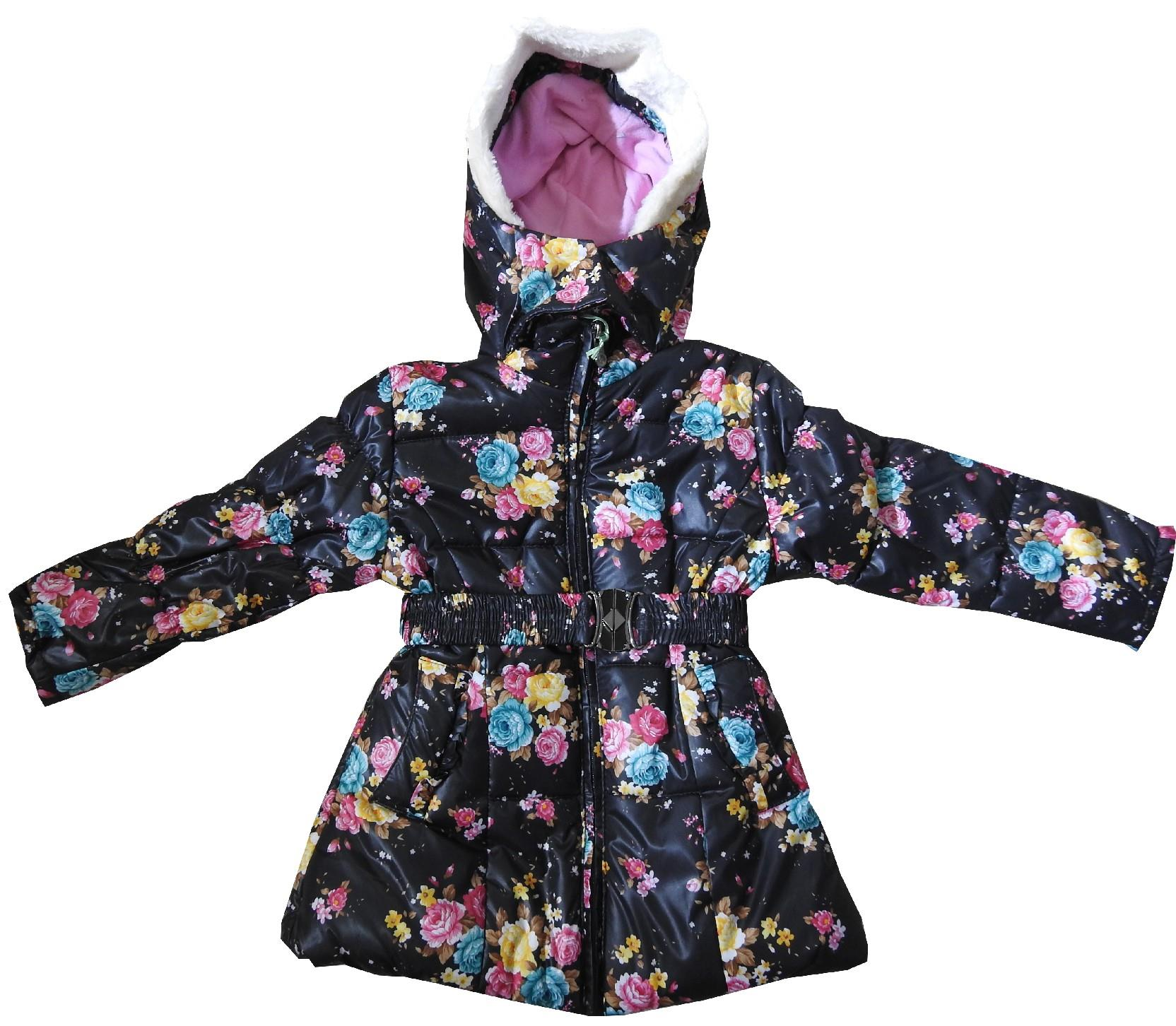 Wholesale flower embroidery coat for girl (2-3-4-5 age)