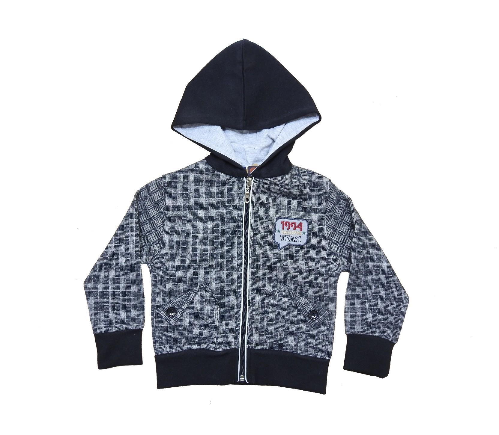 Wholesale chequered sweatshirt for boy (3-4-5-6 age)