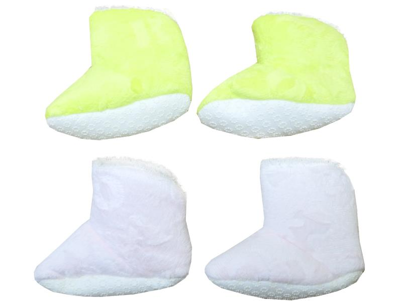Wholesale baby bootie faux shearling 5 pieces in package