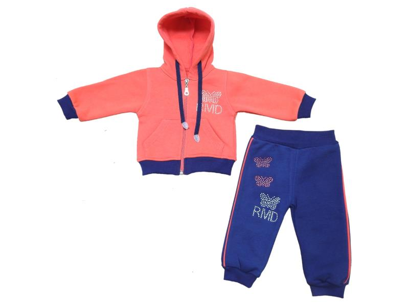 Wholesale ''RMD'' print hoodie tracksuit for girl (3-6-9-12 month)