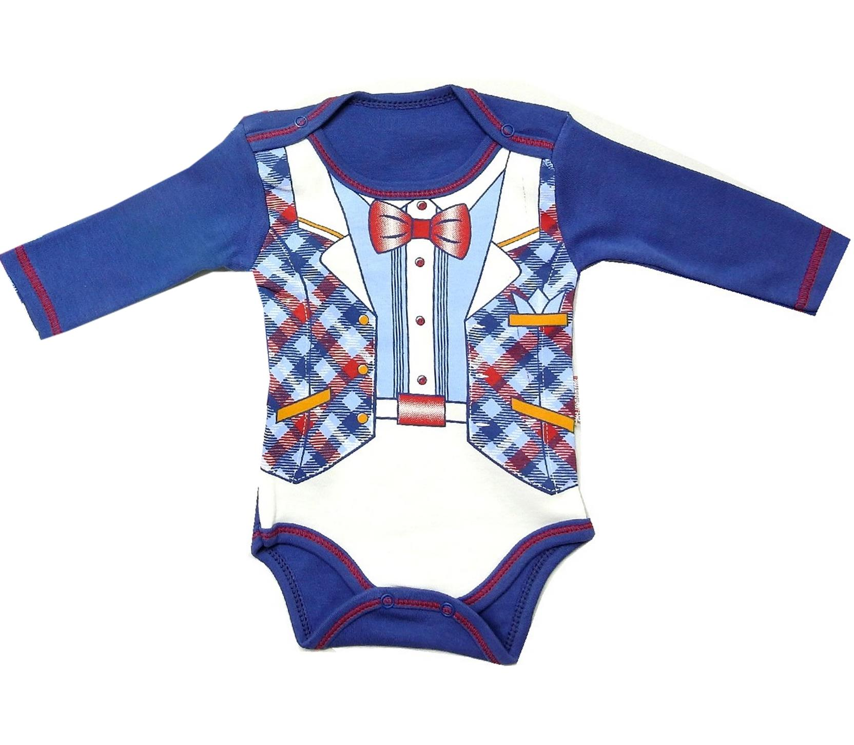 4618 wholesale suit printed snap fastening bodysuit for baby (3-6-9-12 month)
