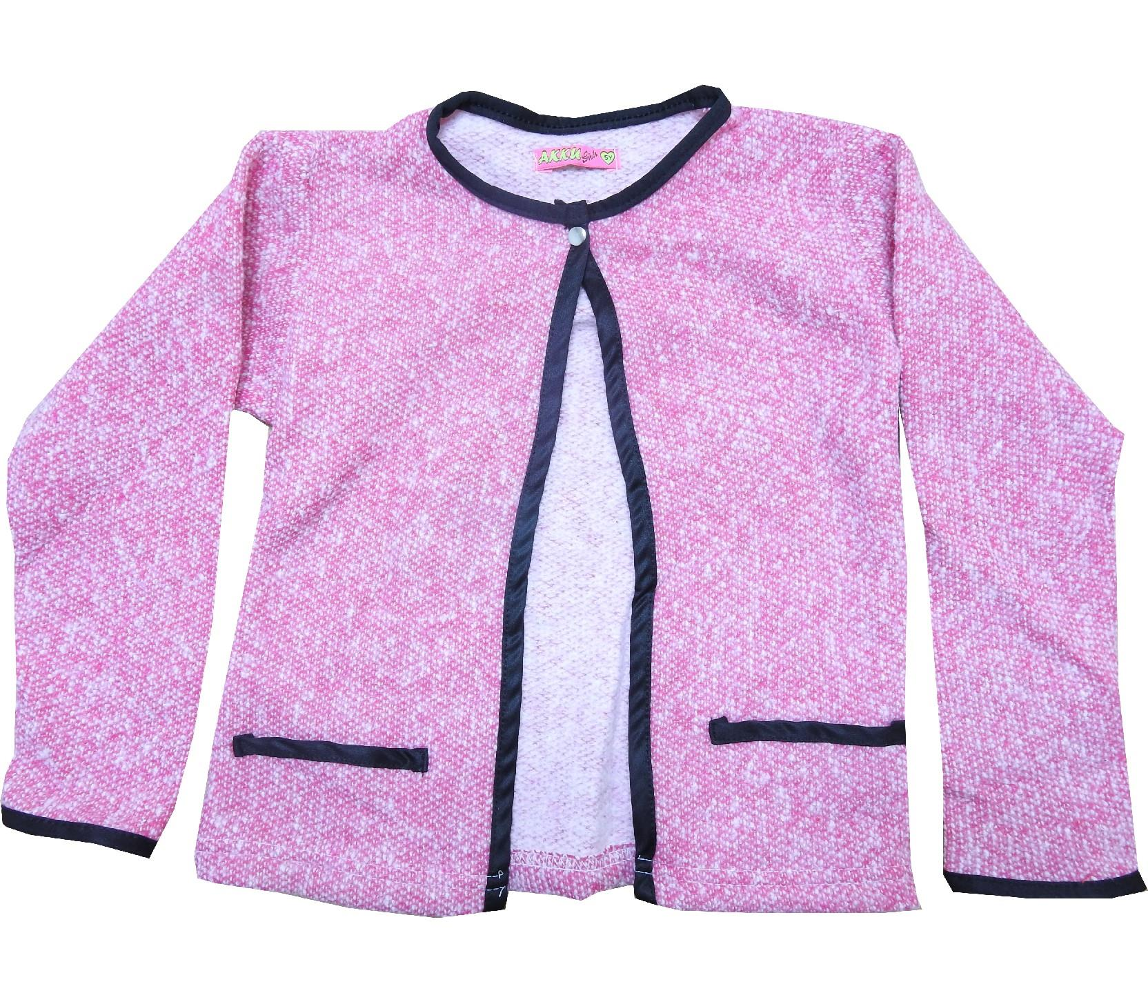 H.AK 53 wholesale knitted cardigan for girl (2-3-4-5 age)