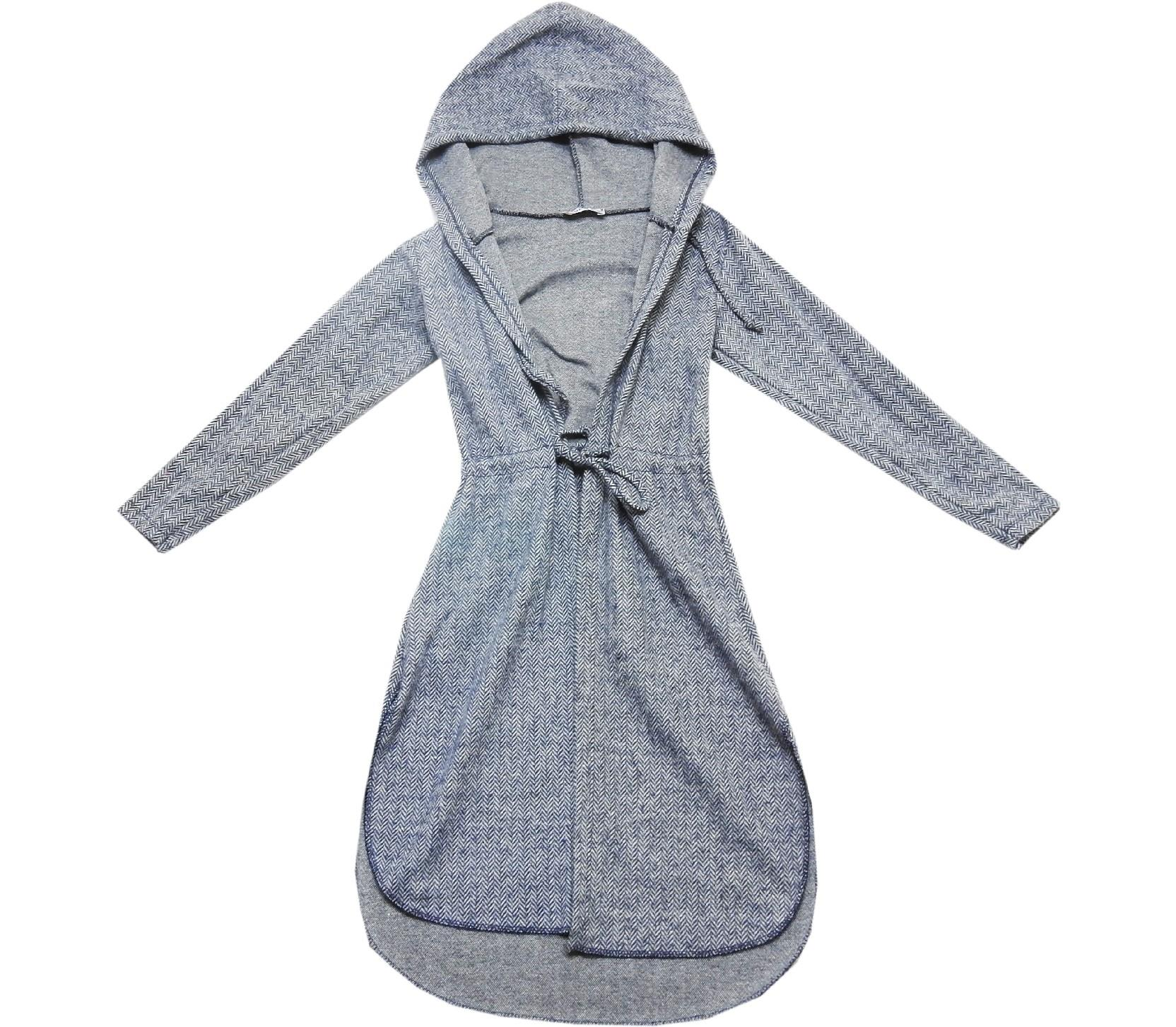 1762 wholesale hooded tunic cardigan for girl (10-12-14-16 age)