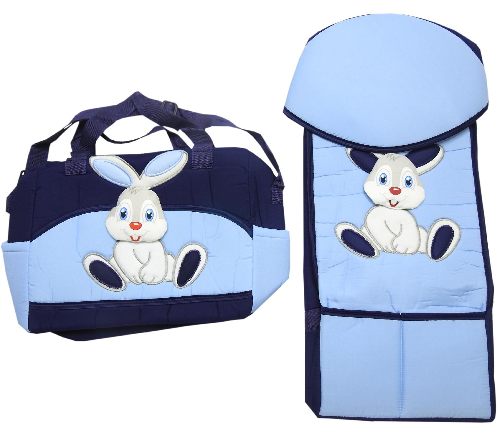 wholesale rabbit printed care bag and carrycot for baby