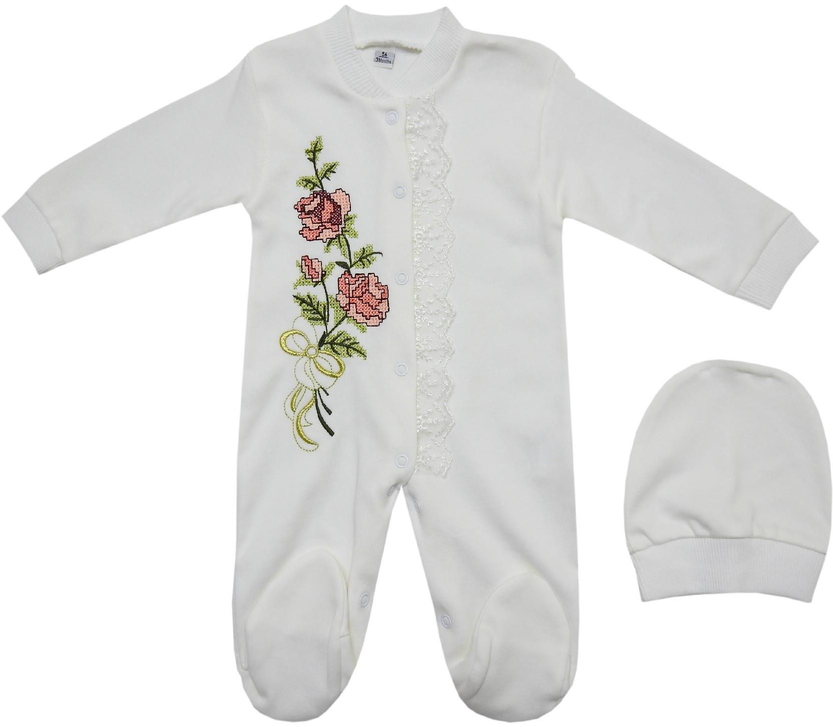 5100 Wholesale flower printed overall for baby girl (0-3-6 month)