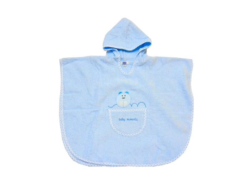 98887 Wholesale hooded poncho bathrobe for babies