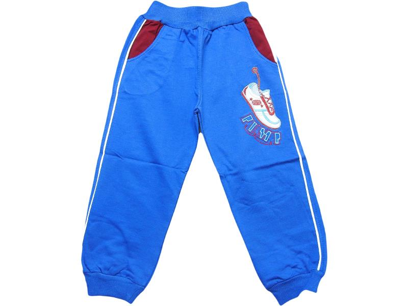 214 Wholesale sneakers printed single pant for boy kids clothes (5-6-7-8 age)