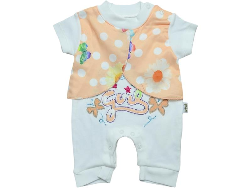 2706 Wholesale spotty romper for girl baby clothes (3-6-9 month)