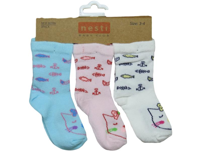 159 wholesale quality and cheap 12 piece socks for babies