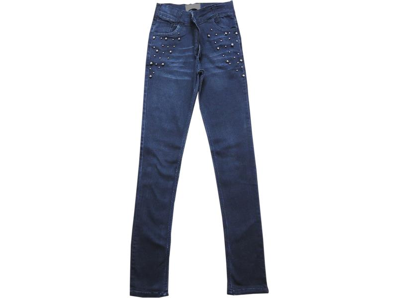 4160 Wholesale jeans pant for girl children clothes (8-9-10-11-12 age)