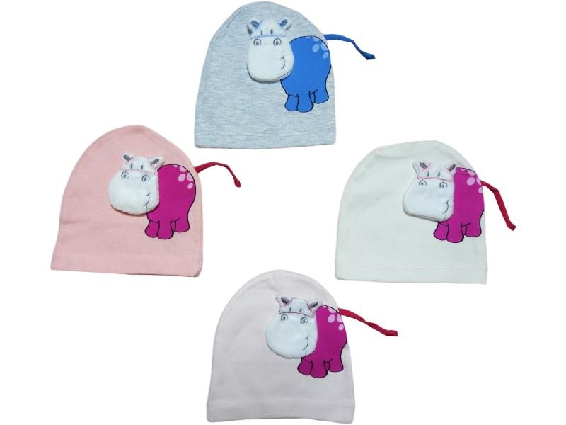 352 Wholesale hats for newborns and babies with a Hippo