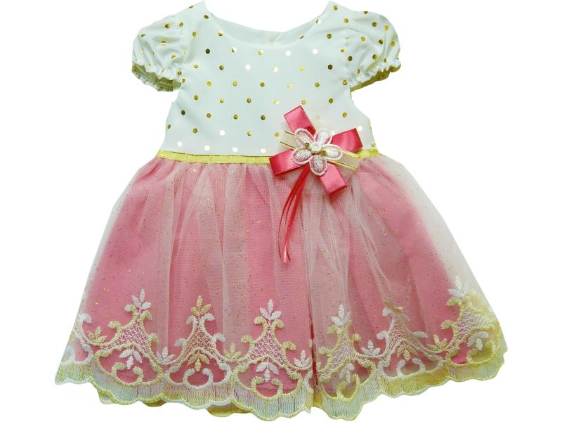 671 Wholesale tulle design dress for girl kids clothes (1-2-3-4 age)