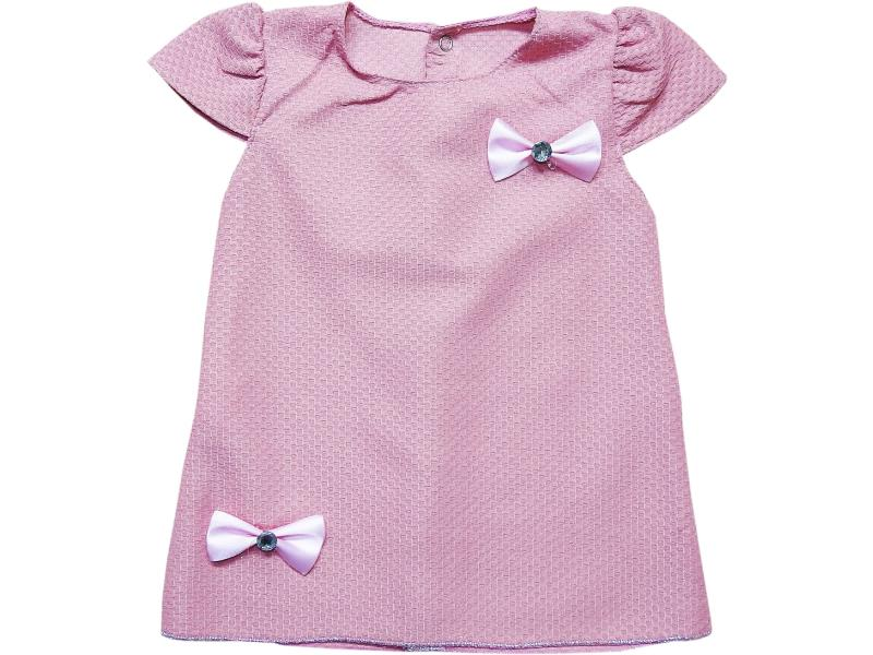 97 Wholesale ribbon applique dress for girl kids clothes (1-2-3 age)