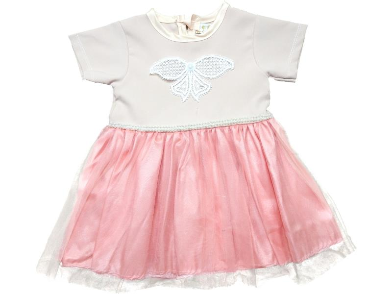 006 Wholesale butterfly printed tulle dress for girl kids clothes (1-2-3-4 age)