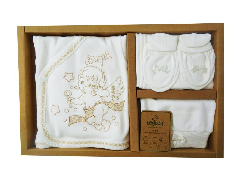 L-6646 Wholesale newborn set for babies 6 pieces in package