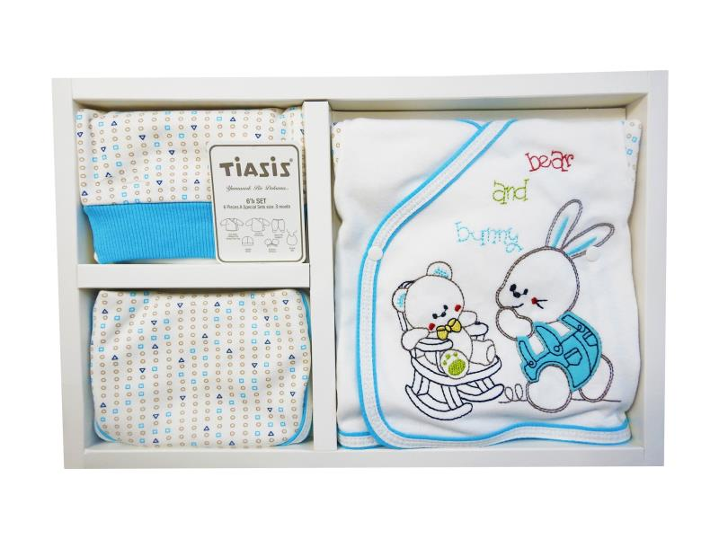T-2226 Wholesale newborn set for babies 6 pieces in package