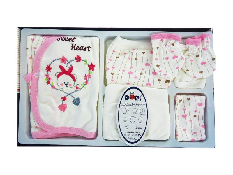 1010 Wholesale newborn set for babies 8 pieces in package