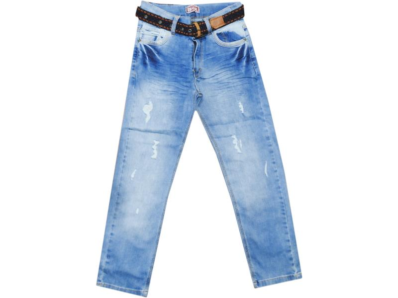 1652 Wholesale denim pant for boy kids clothes (9-10-11-12 age)